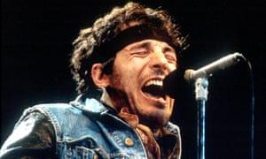 Bruce Springsteen in 1985