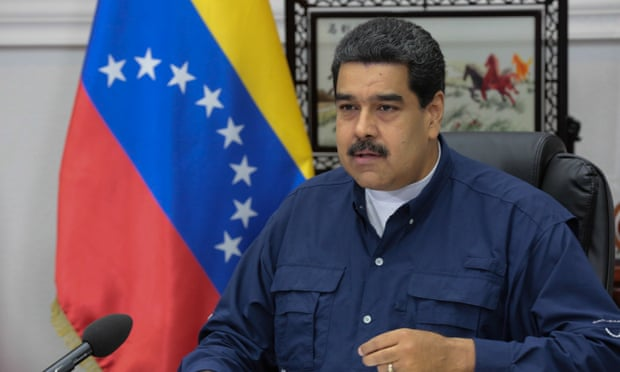 Venezuela's president, Nicolás Maduro