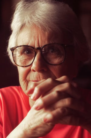 Harper Lee in Stockton, Alabama in August 2001.
