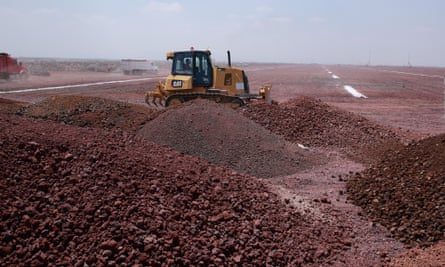 Construction At The New International Airport