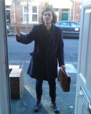 Poet calling … Rowan McCabe in Newcastle