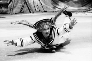 Toyah Wilcox throws herself into the role of Puck in A Midsummer Night's Dream, directed by John Doyle in 1995