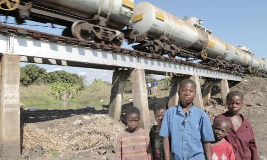 The Dondo bridges in Sofala province where the final mine clearance took place