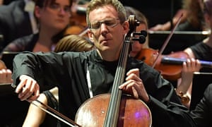 Cellist Johannes Moser at the BBC Proms 2016