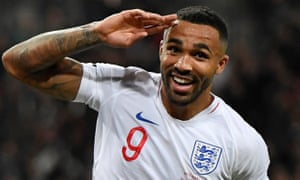 Callum Wilson scored a debut goal in an encouraging performance from the Bournemouth striker.