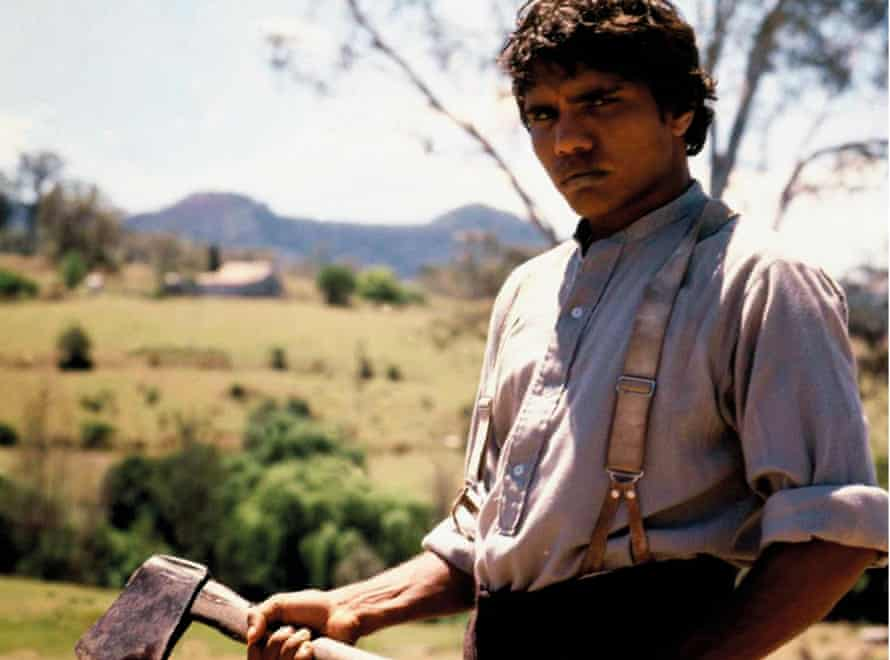 Tommy Lewis as Jimmie in Fred Schepisi's film version of The Chant of Jimmie Blacksmith.