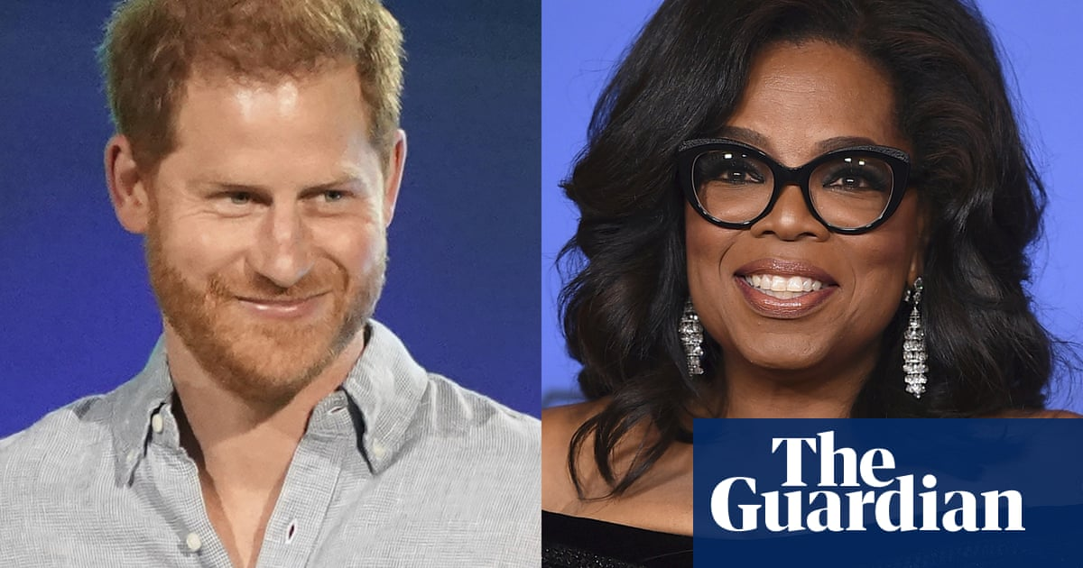 Prince Harry and Oprah Winfrey join forces for mental health TV series
