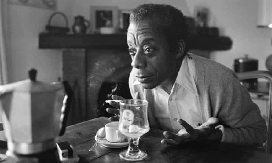 American novelist, writer, playwright, poet, essayist and civil rights activist James Baldwin in 1979.