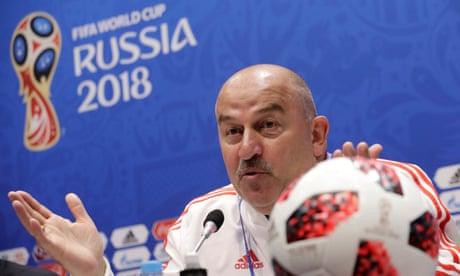 Stanislav Cherchesov winning friends in high places as Russia dreams big
