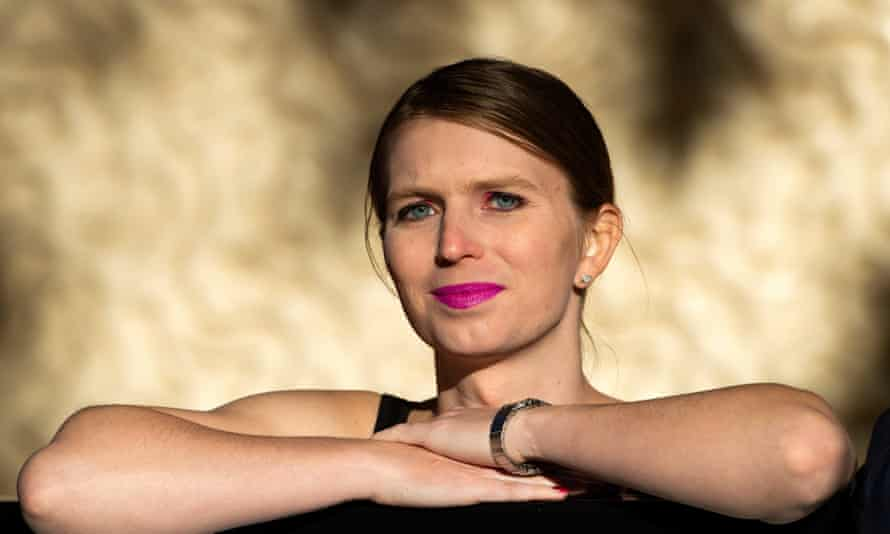 Chelsea Manning in London on 1 October 2018.
