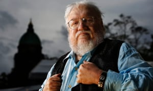 'There is certainly no lack of material' … George RR Martin.