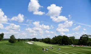 The Trump National Golf Club in Bedminster is one of Trump's favorite weekend spots.