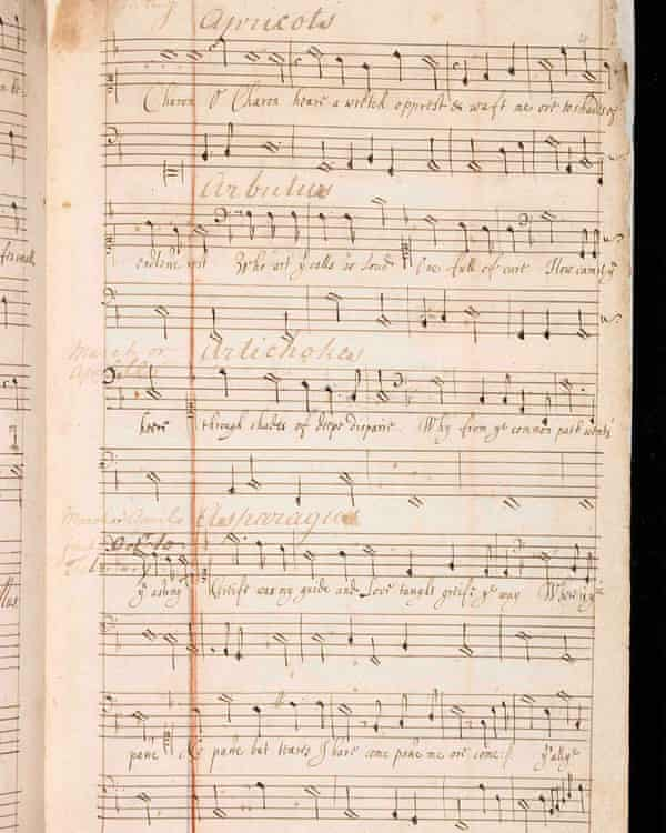 The musical score by Robert Ramsey