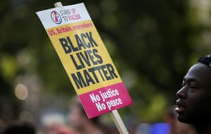 Black Lives Matter UK supporters in London