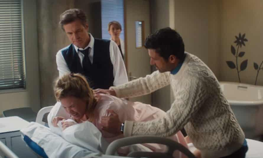Colin Firth, Renée Zellweger and Patrick Dempsey in Bridget Jones's Baby