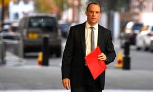 Former Brexit Secretary, Dominic Raab