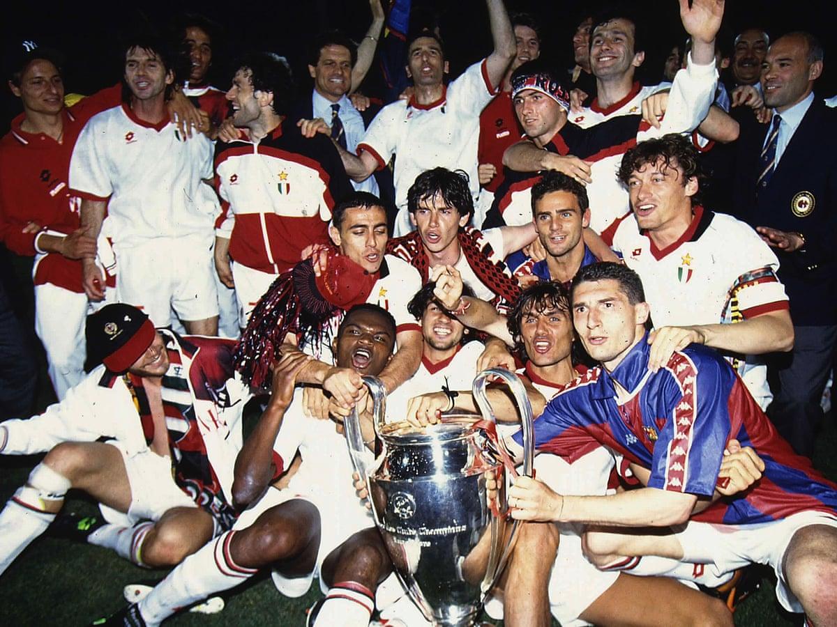 Milan 4-0 Barcelona: 1994 Champions League final – as it happened | Sport |  The Guardian