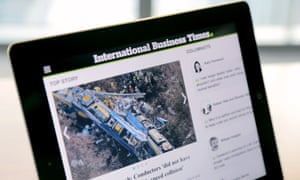 International Business Times: expanding in Europe.