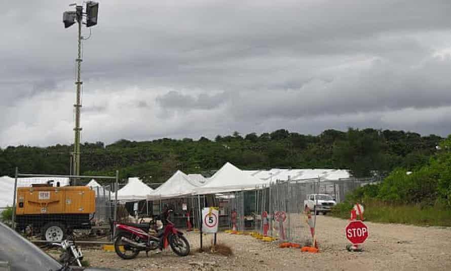 Australian-run detention on Nauru