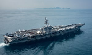 USS Carl Vinson is  heading towards North Korea but only after a string of misleading statements