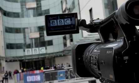 TV camera BBC