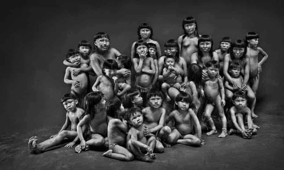 Members of the Suruwaha tribe in Amazonas, Brasil.