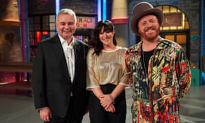 Leigh Francis, Anna Richardson et Eamonn Holmes dans The Fantastical Factory Of Curious Craft