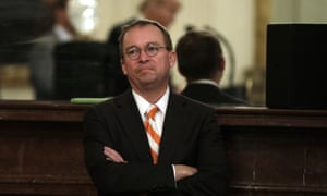 The acting White House chief of staff, Mick Mulvaney: 'Keep in mind he's willing to do whatever it takes to secure the border. He does take this very seriously.'