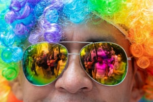 Mexico City, Mexico. The capital was awash in colour for the annual Pride march