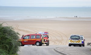 Sangatte, near Calais, where a teenager who disappeared at sea was found dead.