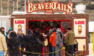 BeaverTails have been serving their beaver-tail shaped pastries in Ottawa since 1980.