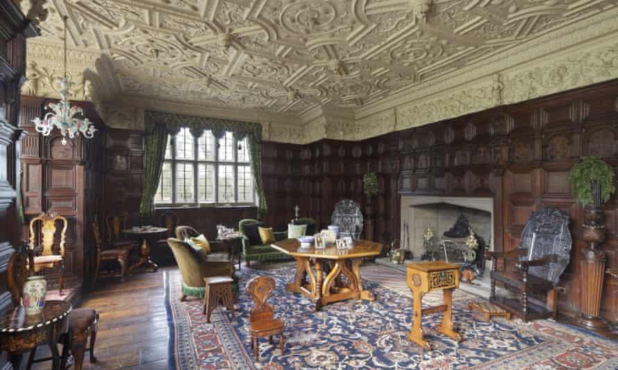 The Drawing Room at Gawthorpe Hall, Lancashire.