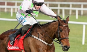 Paul Townend rides Chacun Pour Soi clear in the Dublin Chase on Saturday.