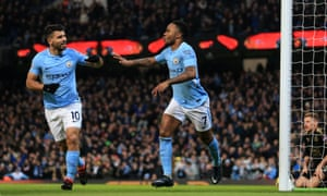 Raheem Sterling and Sergio Agüero are both vying for the golden boot this season.