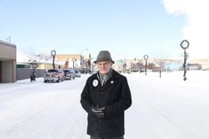 Bob W Anderson, mayor of International Falls.