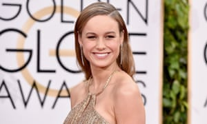 Room in her schedule? ... Oscar winner Brie Larson is set to play Captain Marvel.