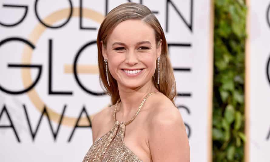 Room in her schedule? ... Oscar winner Brie Larson is set to play Captain Marvel.
