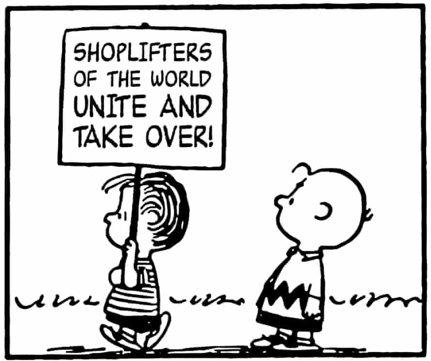Loved by Morrissey … Lauren LoPrete's Peanuts/Smiths mashup, from her Tumblr page This Charming Charlie.