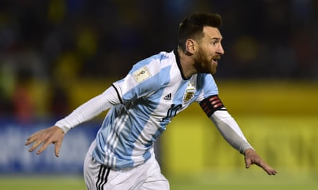 Messi hat-trick secures World Cup place for Argentina – video highlights