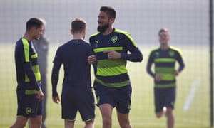 Olivier Giroud says he is feeling good on the pitch after his two goals against Sunderland helped Arsenal to victory and kick-started a season interrupted by injury and suspension.