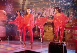 Sister Sledge performing c.1979.