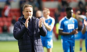 Neal Ardley has been unable to steer Notts County out of the League Two relegation zone.