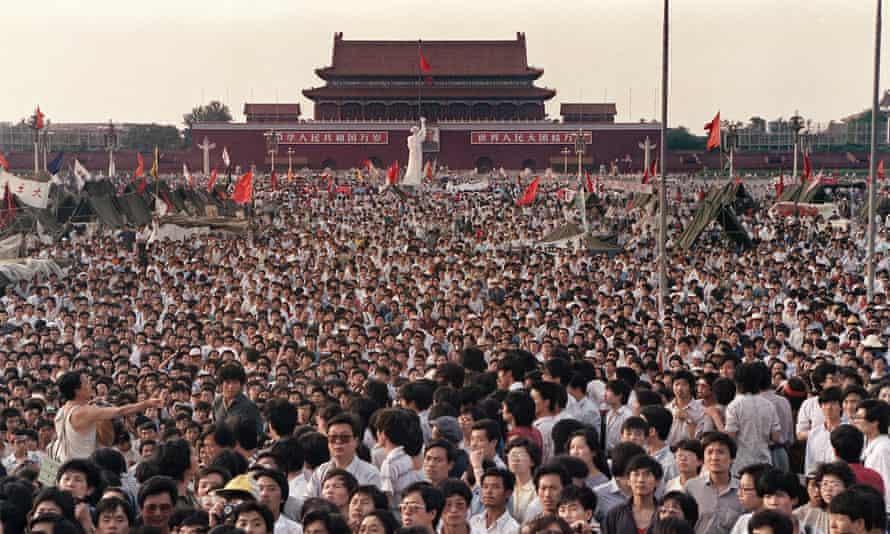 Tiananmen Square on 2 June 1989