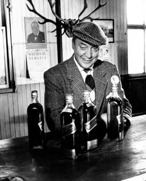 Basil Radford in the film of Whisky Galore.