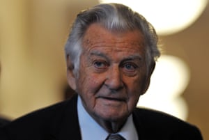 Bob Hawke last month, speaking about the release of the 1990-91 cabinet papers.