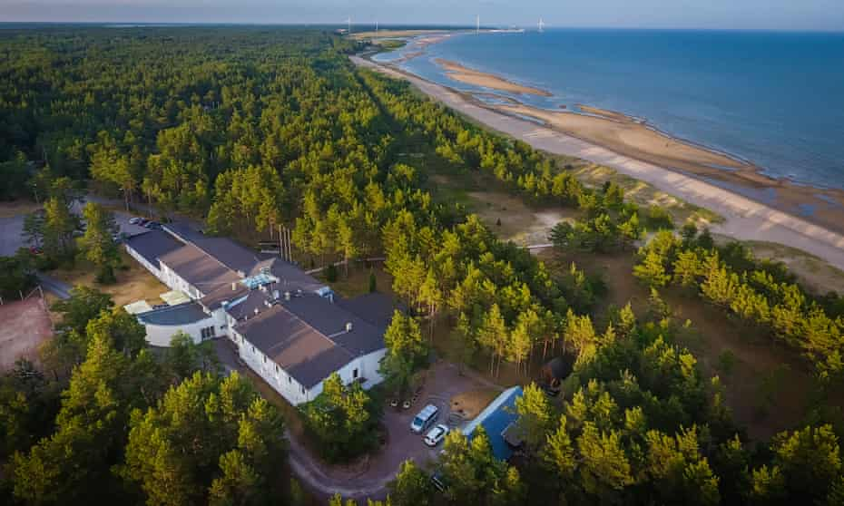 A view across the roof of Hotell Saaremaa