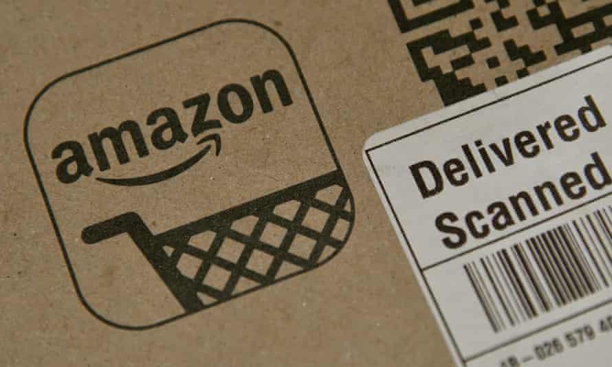 Amazon package.