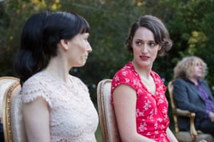 Smart, sublime… Sian Clifford and writer Phoebe Waller-Bridge as the outwardly warring sisters in the final episode of Fleabag.