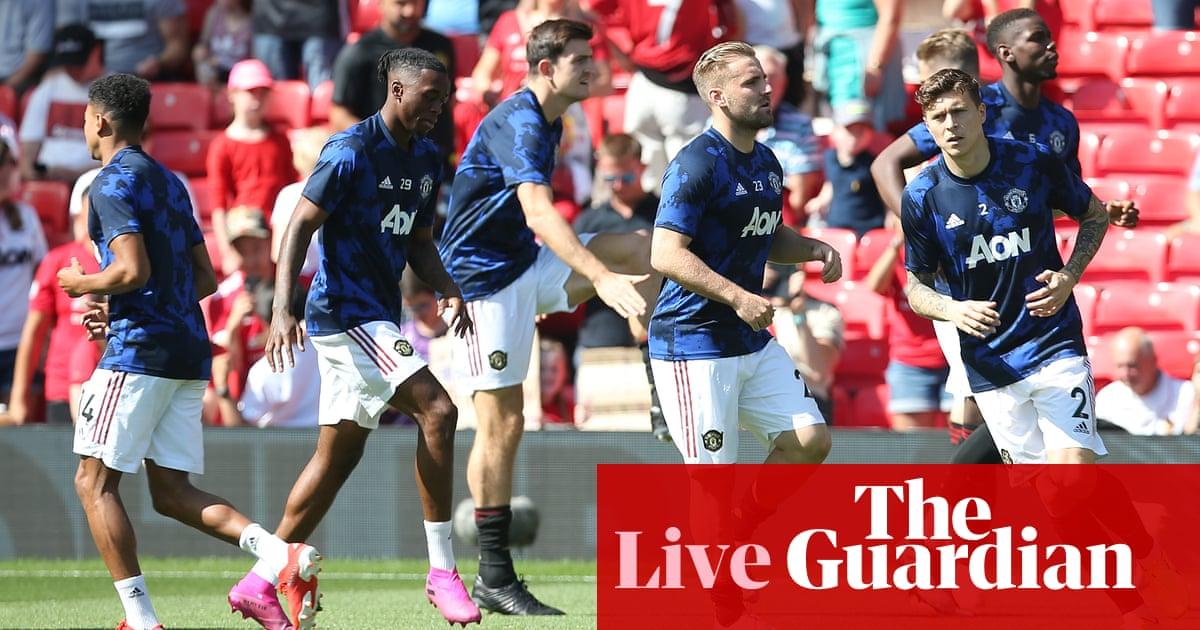Manchester United v Crystal Palace, Watford v West Ham and more – live!