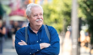A different person …  Armistead Maupin in San Francisco, California.